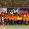 Huckabee, Inc. wore orange in honor of Chris Huckabee's niece, Ellie Fetner, who is battling leukemia.