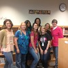 Judy K. Miller Elementary School teachers wear pink and teal to support Colors for Caring.