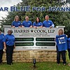 We wear BLUE for Joanne Tyra, a beloved employee of & the mother of attorney Kimberly Fitzpatrick. #ColorsForCaring