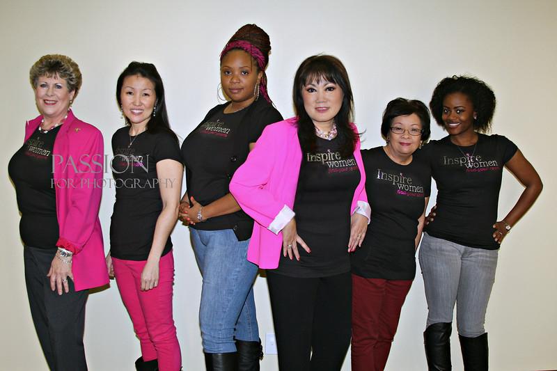 Inspire Women Organization Founder Anita Carmen and spiritual leadership team