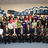 Central Junior High students with the Consul General of India  and district officials.