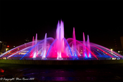 Friendship Fountain, Jacksonville, Florida.