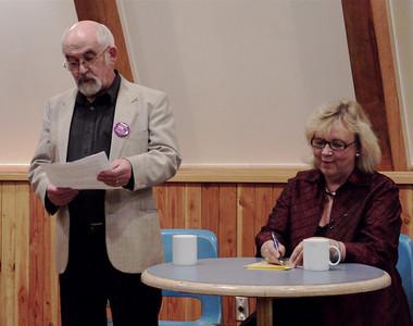 2010 Elizabeth May Pender Islands Community Centre