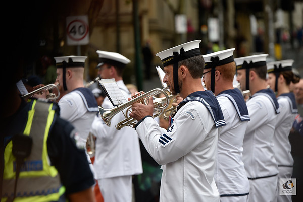 featured, parade, Australia Day, Melbourne, 20170126, military, band