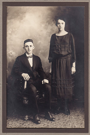William Norman and Victoria (Hess) Brobst. Married July 15, 1922.