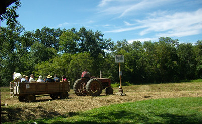 Dreibelbis Homestead Open House: Hay ride