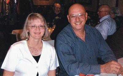 Valerie (Fry) and Glenn Kershner, at Harold and Esther (Hill) Derr's 60th anniversary.