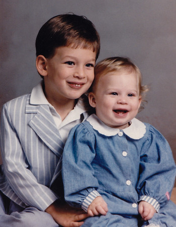 Jason and Lori Lippman (children of Lisa (Derr) and Robert Lippman). 1992