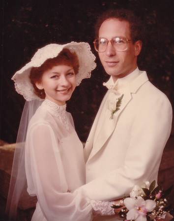Wedding of Lisa Derr and H. Robert Lippman, Oct 30, 1983.