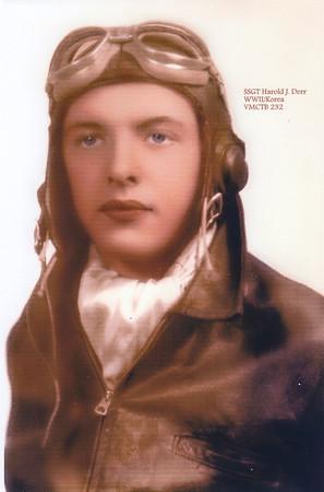 SSGT Harold J. Derr, WWII /  Korea, VMCTB 232.