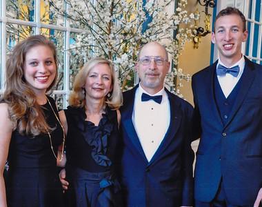 Lori, Lisa, Robert & Jason Lippman, March 2014.