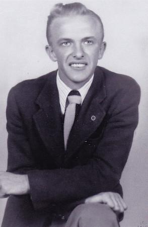 Harold Derr, shortly after he started dating Esther Hill.