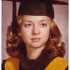 Lisa Derr (later Lippman), graduating from Kutztown State College, Kutztown, PA (now Kutztown University). 1974