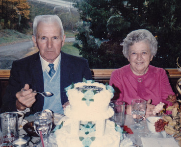 Stanley and Ellen (Hill) Heffner; 50 years marriage (October 29, 1936 - 1986).