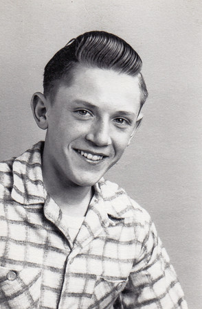 John Hill, 1955, 15 years old.