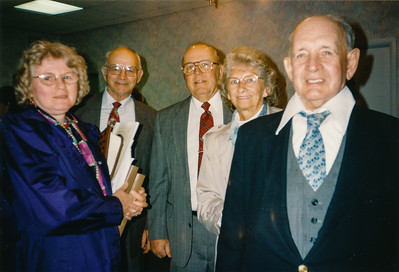 Marie (Schrack) Hill, Wilson Dunkelberger, ____ Delong, _____ Delong (parents of Tony Delong), Stanley Greenawalt.