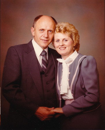 John and Marie (Schrack) Hill, late 1984.