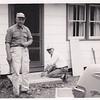 John L. Hill and friend  Ed Adam, May 27, 1962.