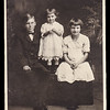 The children of Gertrude Hill's sister Sallie (Strausser) Hoffa:  LeRoy, Esther and Jeanette Hoffa. <br /> Leroy was out shooting birds. Mother asked the Esther to go get him. She ran out the house, got in his line of fire and died.<br /> Parents John Hoffa and Sallie Strausser moved around the country and eventually settled in California.