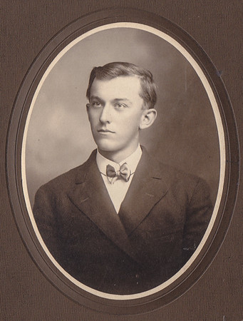 Milton Jacob Hill in his early 20's before he was married.
