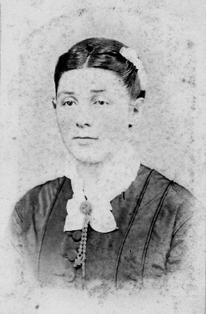 Bregetta Hill, (1834 - 1900), daughter of Jacob (Johann Jacob) Hill (1789-1885) and Magdalena Strasser (Strausser) Hill (1800 - 1866)