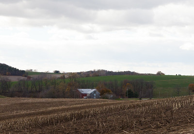 Farm, barn and house;  Originally part of the Hill homestead, for a time lived in by Johann Jacob and Magdalena (Strasser or Strausser) Hill.