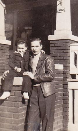 Dick Bechtel and Little Dickie