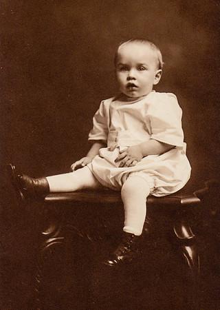 Richard 'Dick' Bechtel, son of Howard and Hattie (Wien) Bechtel.