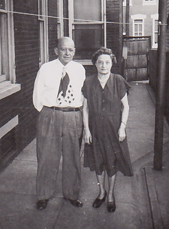 Howard Bechtel (son of Howard & Hattie L. (Wien) Bechtel) & Katie Strouse (Kathryn Emma, daughter of Gideon & Louisa (Hafer) Wien).