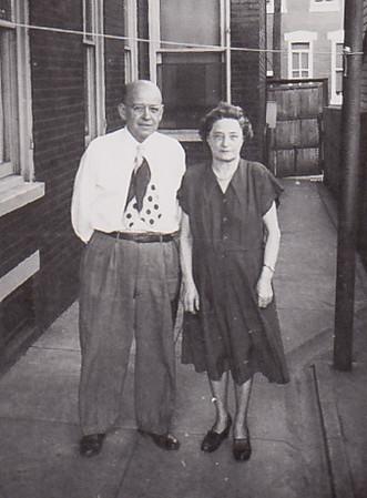 Howard Bechtel (son of Howard & Hattie L. (Wien) Bechtel) & Katie Strouse (Kathryn Emma, daughter of Gideon & Louisa (Hafer) Wien).