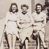 Dot Moyer, Stella (Wien) Humma, Ruth (Humma) Fisher, 226 Carpenter St., Reading, PA.