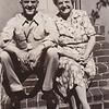 Melly Fisher & 'Ami' Stella (Wien) Humma, 226 Carpenter St., Reading, PA, Aug 1947.