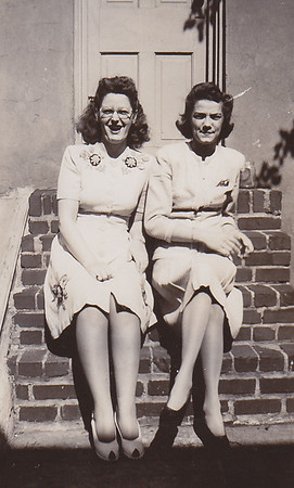 Dot Moyer, Ruth (Humma) Fisher. 226 Carpenter St., Reading, PA