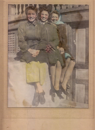 Humma sisters: Ruth (later Fisher), Verna (later Johnston) and Ann (later Huber).