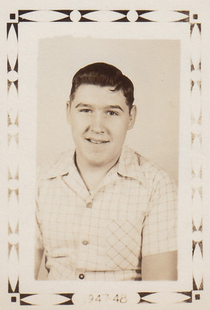 Ronald Zuber, 10th grade, 1947-48 school year