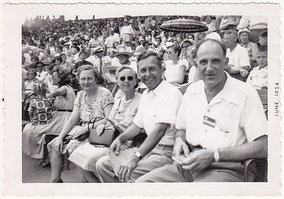 Miriam (Scanlon) Behm, Emily Klopp, John Zezenski and Russel Klopp, in Richmond, VA, 1954