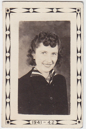 Clara E. Frankhouser, 1941-42 school year