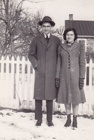 Donald Wiest with his sister Pearl.
