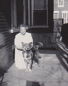 Stella (Wien) Humma and Butch, 226 Carpenter St., Reading, PA.
