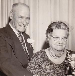 Henry K. and Ida Estella 'Stella' (Wein) Humma's 50th anniversary, 1961.