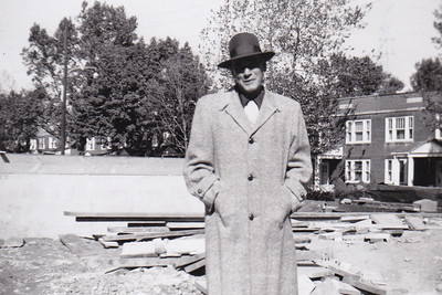 Henry Humma, Bedford Square, PA, Oct. 1957.