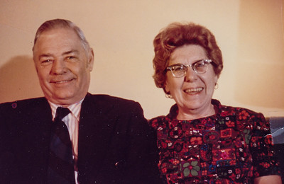 Robert and Dorothy Humma. (Dorothy died Oct 27, 1973.