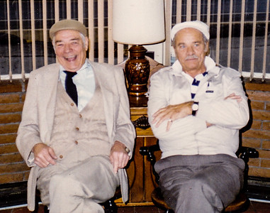 Robert & Warren 'Mike' Humma. (Oct, 1995?)