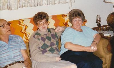 Raymond Humma, Lisa Humma and Marian (Werner) Humma