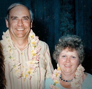 Ronald and Marian (Werner) Humma, on vacation.