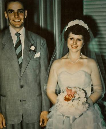 Ronald and Marian (Werner) Humma wedding.