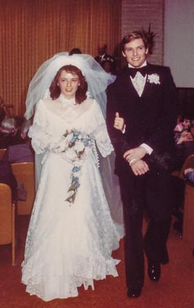 Jeb & Beth (Hill) Humma, Jan. 10, 1981.