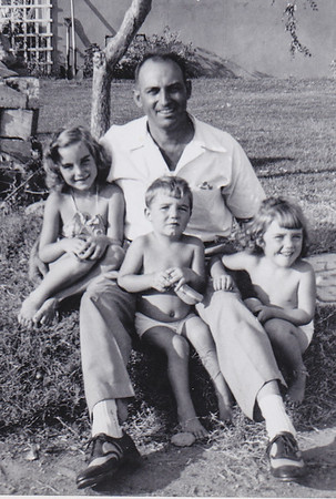 Walter Johnston and Mike's (Warren Humma's) kids: Judy, Karen and Jimmy.