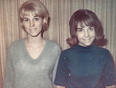 Judy & Karen Humma, Dec. 1965.