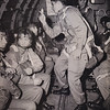 """Paratroopers, WWII. Mike Humma wrote on on the back says: """"Dont they all look happy!!! like hell they do."""""""